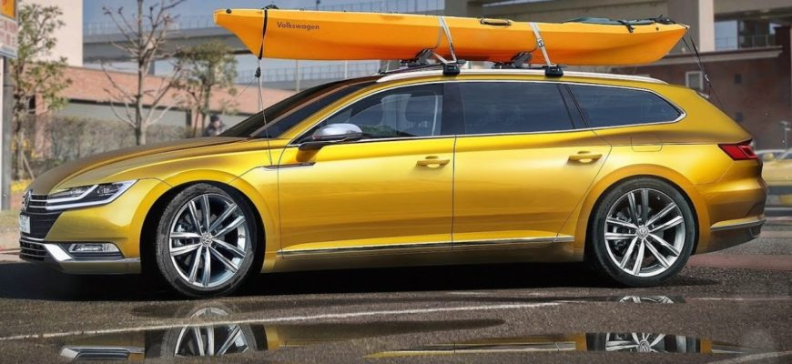 Volkswagen представляет свой новый «анти-кроссовер»