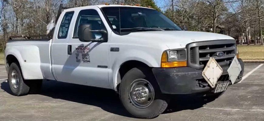 В США нашелся Ford Super Duty с пробегом более 2 миллионов километров