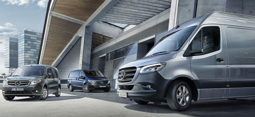 Продажи Mercedes-Benz Sprinter в России показали лучшие результаты