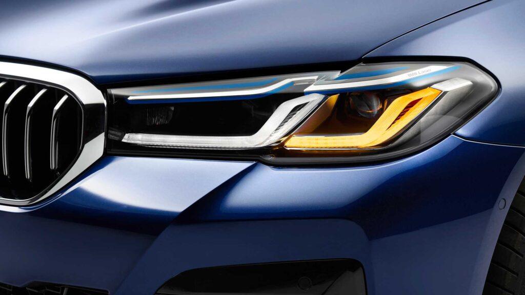 Головная оптика BMW 5 series
