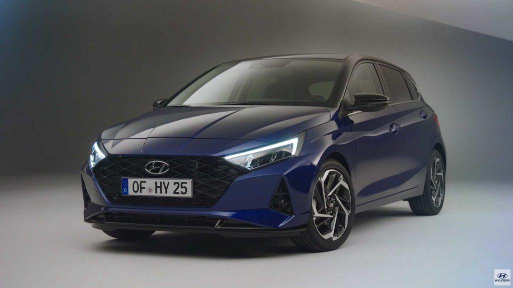 Hyundai презентовал новый гибридный i20