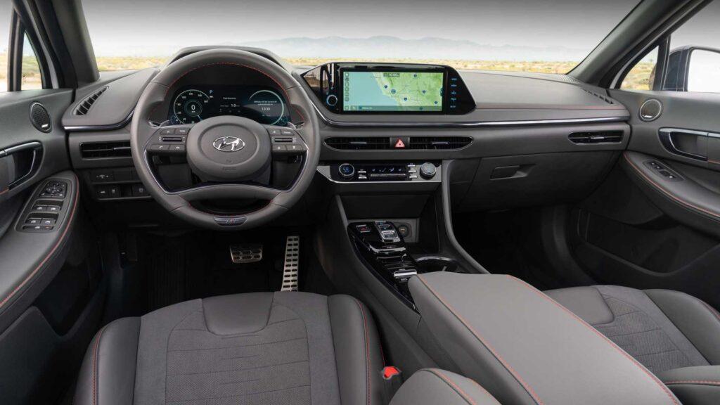 Салон Hyundai Sonata N Line