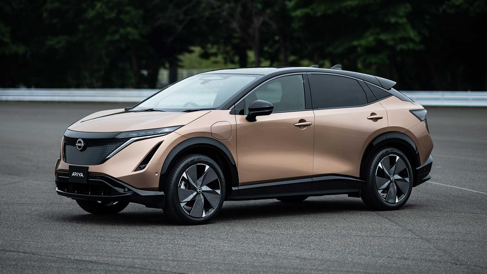 Nissan Ariya вышел в серийное производство