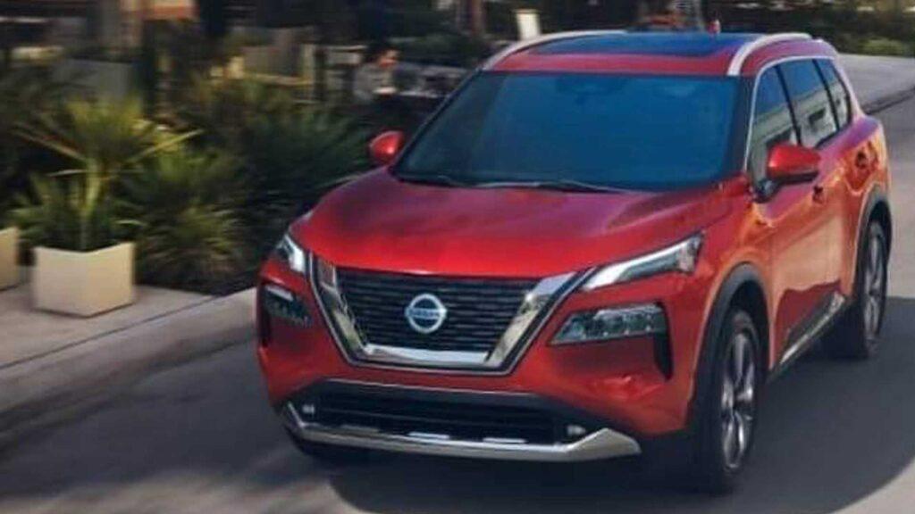 Предварительное изображение нового Nissan X-Trail
