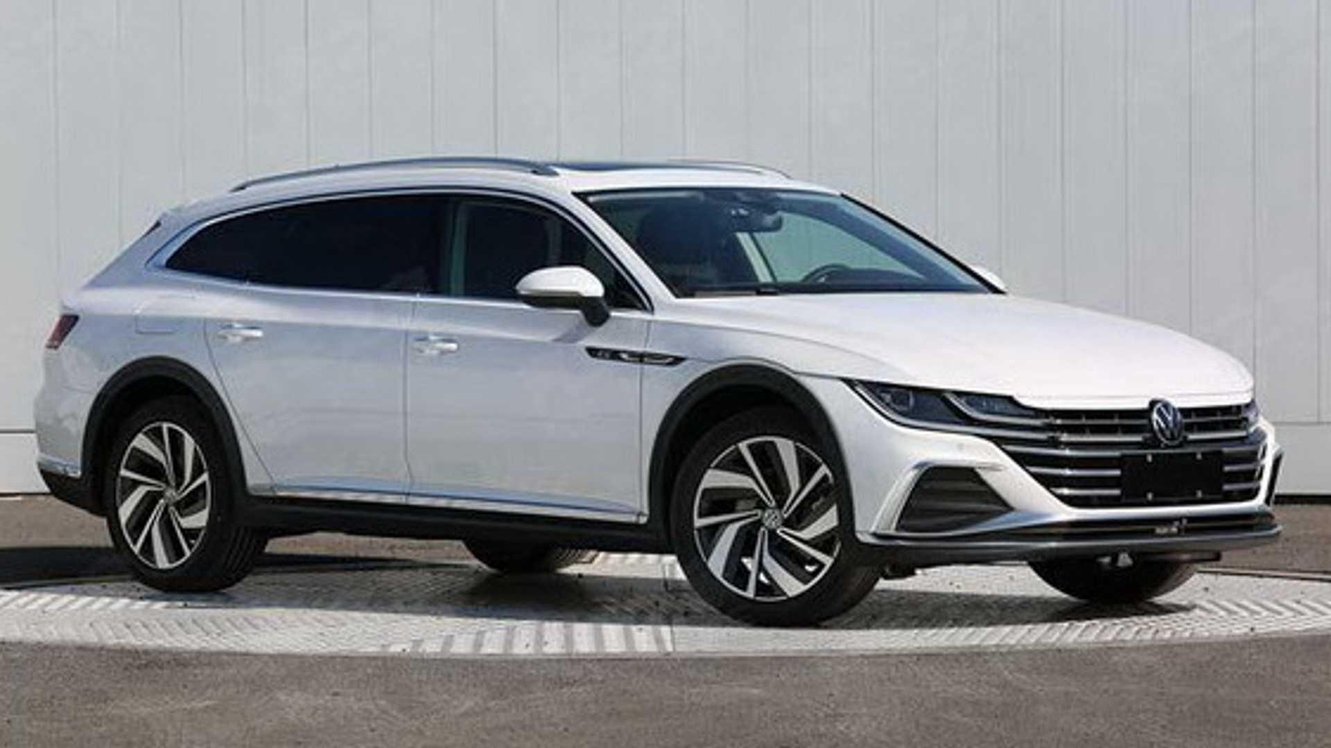 Volkswagen Arteon обзаведется кузовом универсал