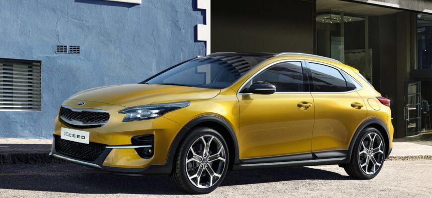 Kia XCeed - скоро стартуют продажи в России