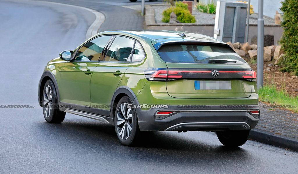 В сети появились фото нового купе-кроссовера Volkswagen на базе Polo