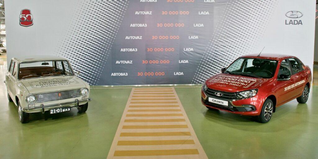 30-миллионная Granta и первый ВАЗ-2101