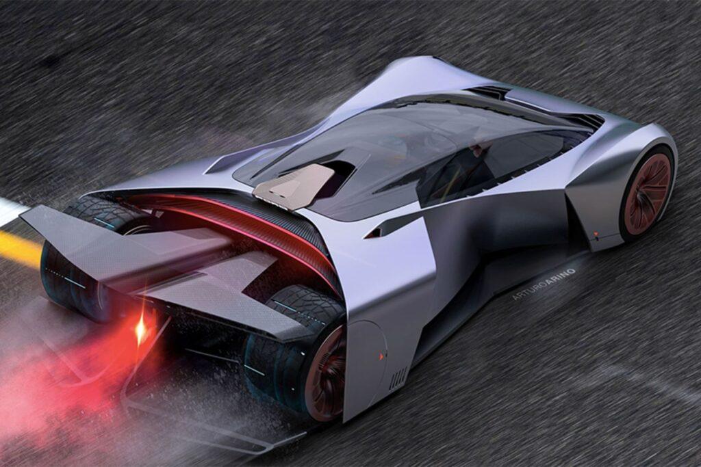 Технические подробности автомобиля оглашены не были, но можно предположить, что он будет на электротяге, так как выхлопная система на рисунках не наблюдается