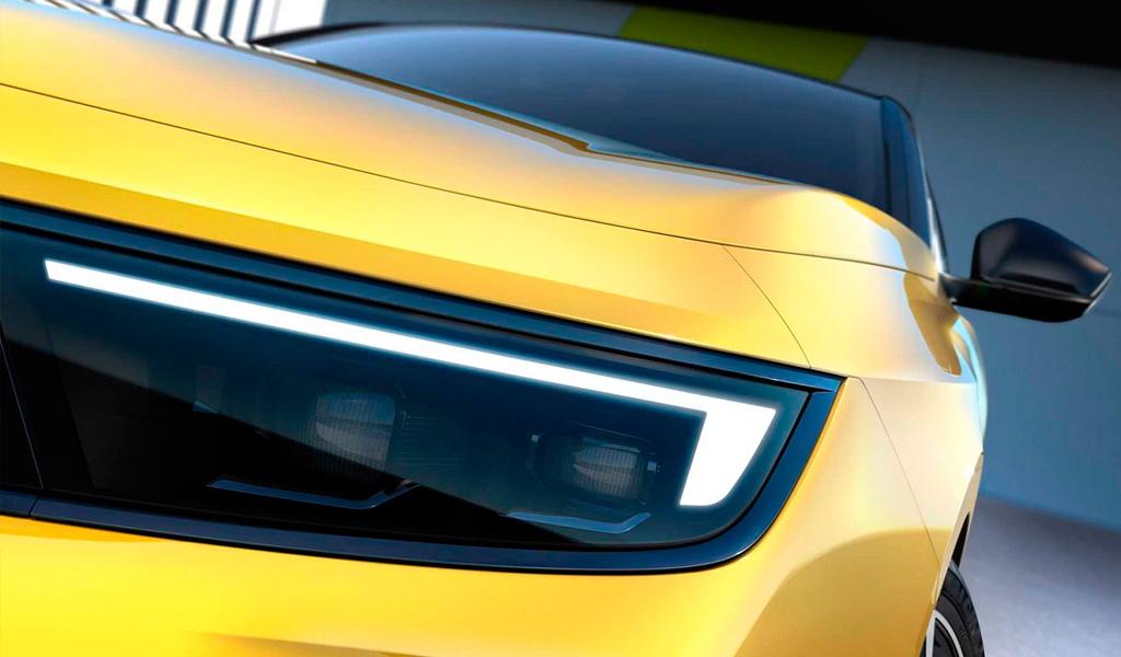 Opel опубликовала фото с новой Astra