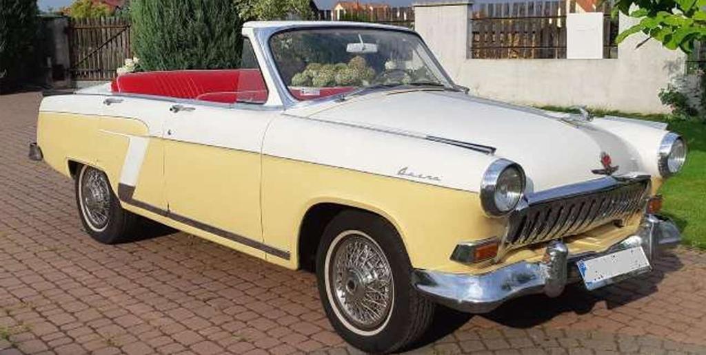 В Германии на продажу выставлена «Волга» в кузове кабриолет