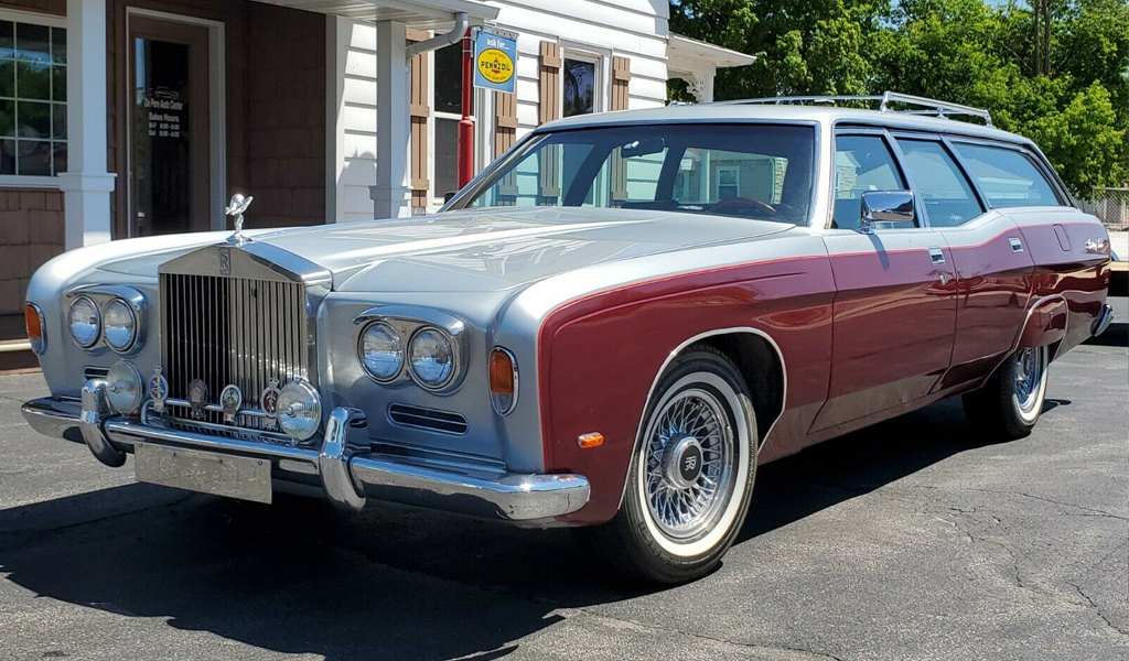 На eBay продают скрещенный Rolls-Royce и Ford