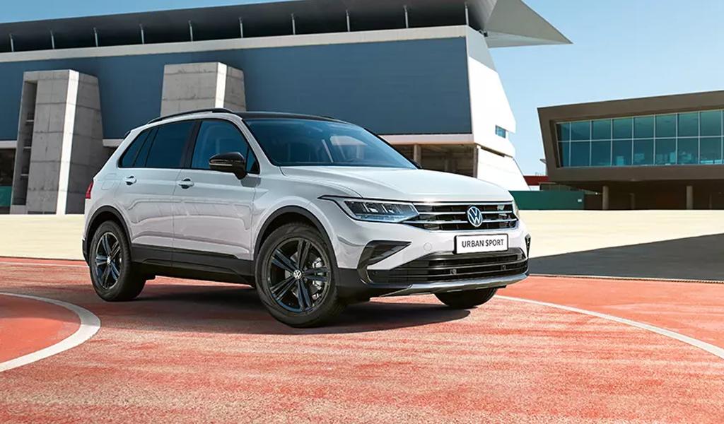 В России появилась спецверсия Volkswagen Tiguan