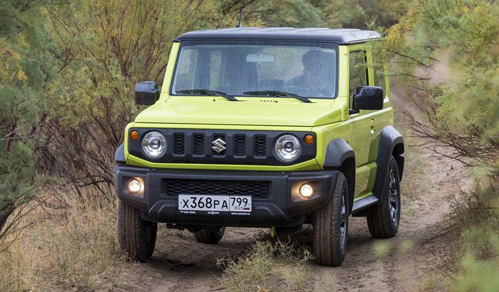 Suzuki объявила об отзыве автомобилей Jimny в России