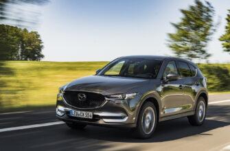 Модель Mazda CX-5 возможно обзаведется кузовом кросс-купе