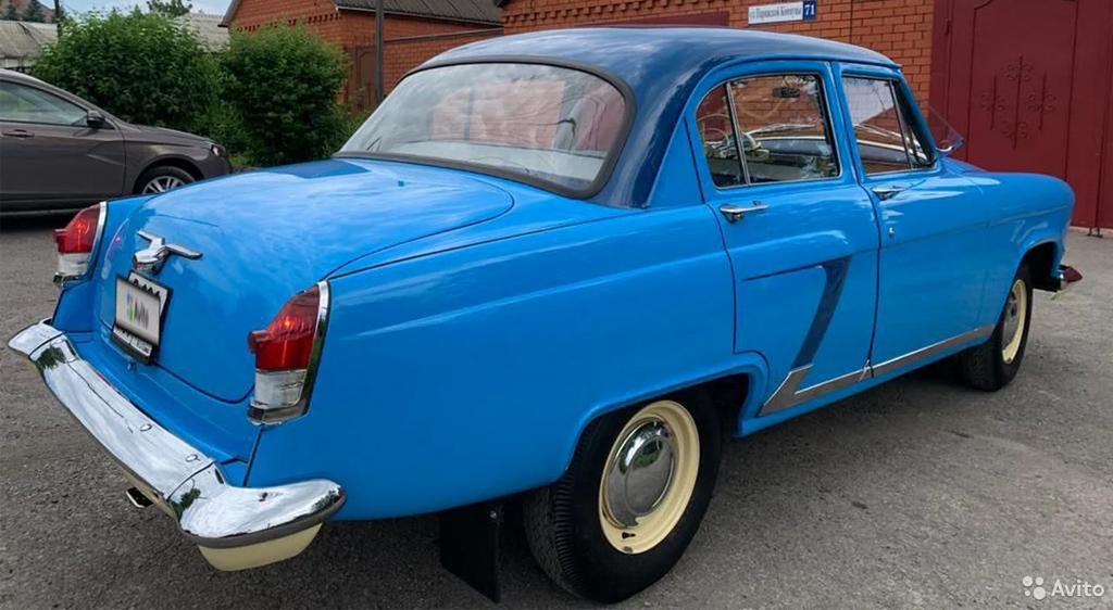 ГАЗ-21 «Волга», выпущенная в 1966 году