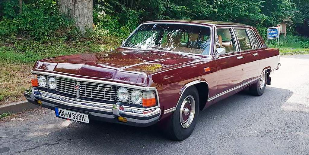 В Германии выставили на продажу автомобиль Леонида Брежнева за 10,7 млн рублей
