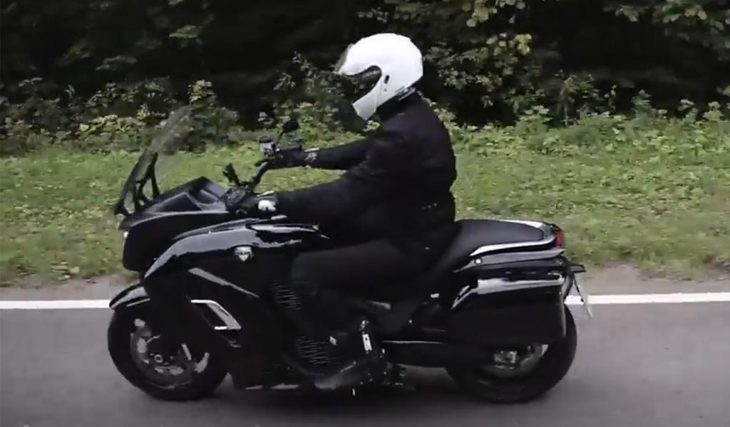 ВИДЕО: Минпромторг показал мотоцикл Aurus