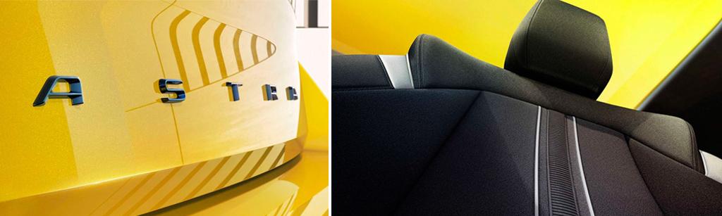 Дизайн нового Салон нового Opel Astra