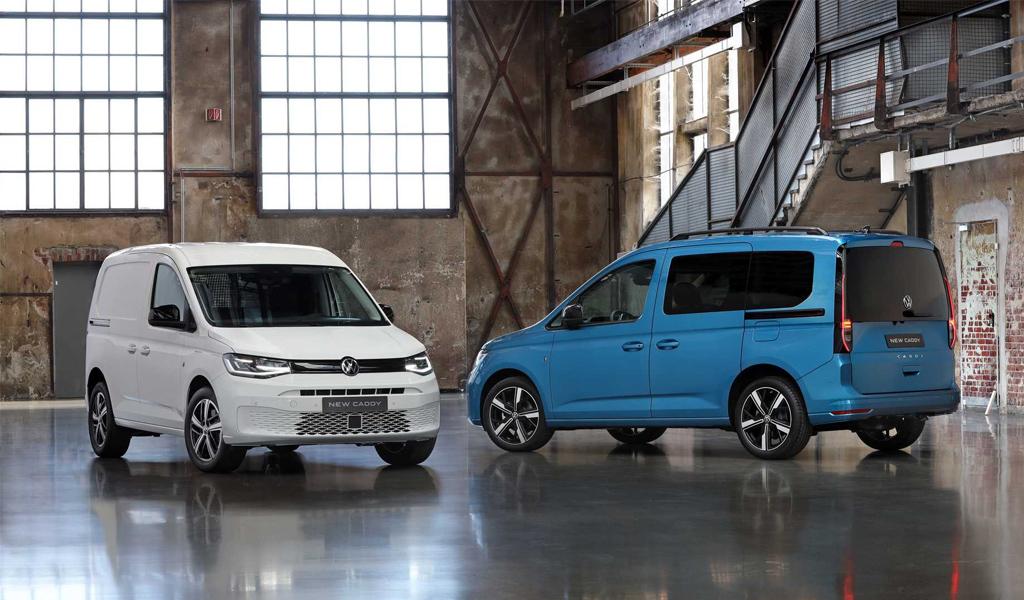 Volkswagen назвал рублевые цены на новый Caddy