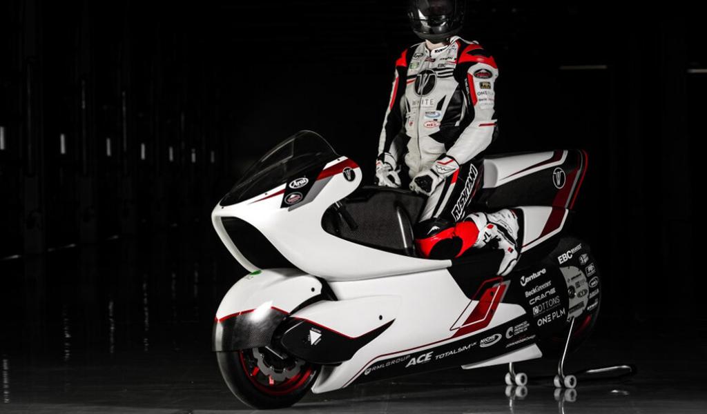 Представлен самый быстрой электромотоцикл в мире