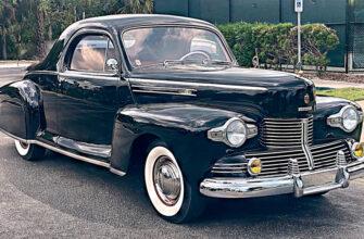 На продажу выставили Lincoln Zephyr 1942 года, которых в мире всего пять