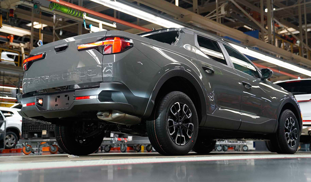 Стартовало производство пикапа Hyundai Santa Cruz