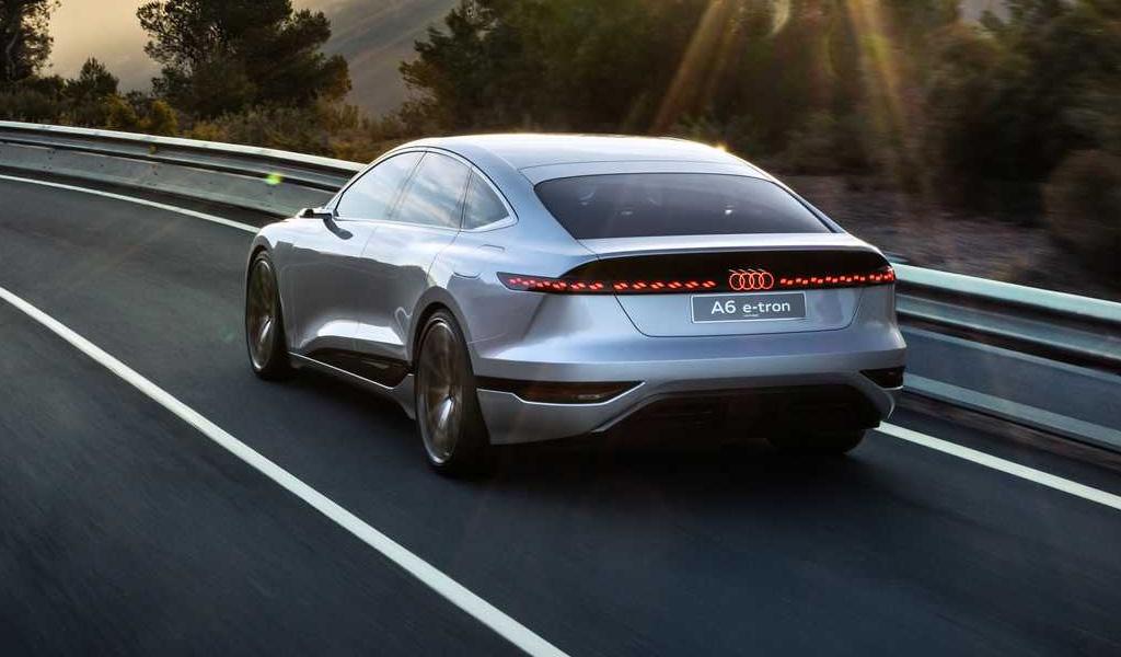 Концепт Audi A6 e-tron