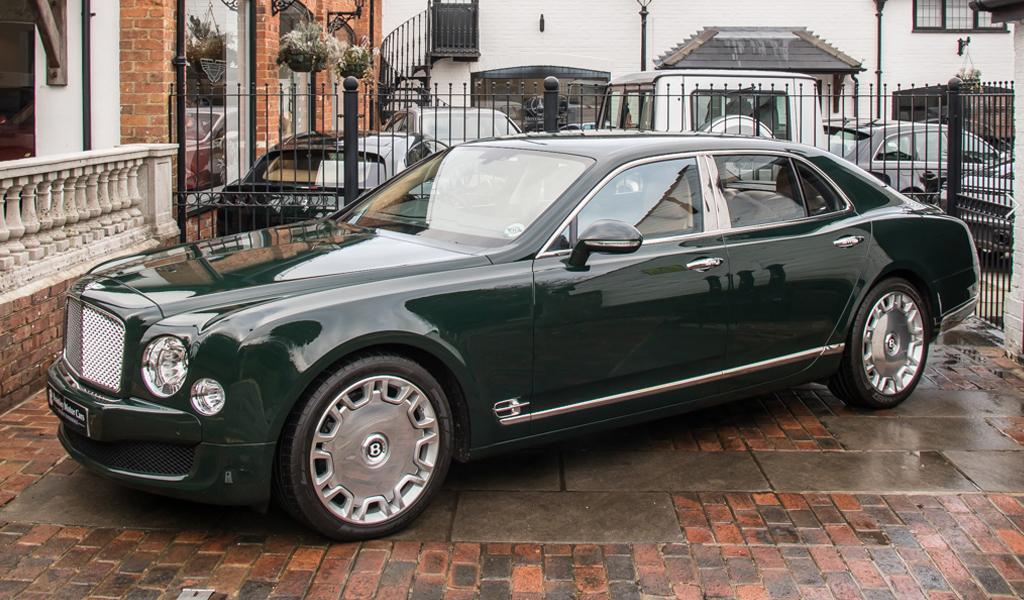 Bentley Mulsanne королевы Елизаветы II выставлен на продажу