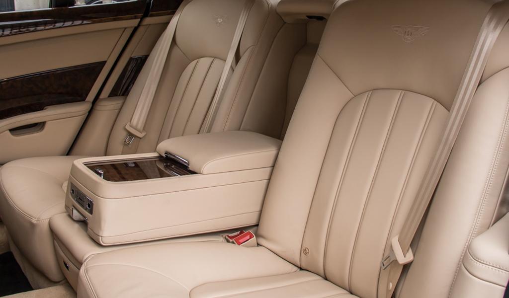 Салон Bentley Mulsanne королевы Елизаветы II