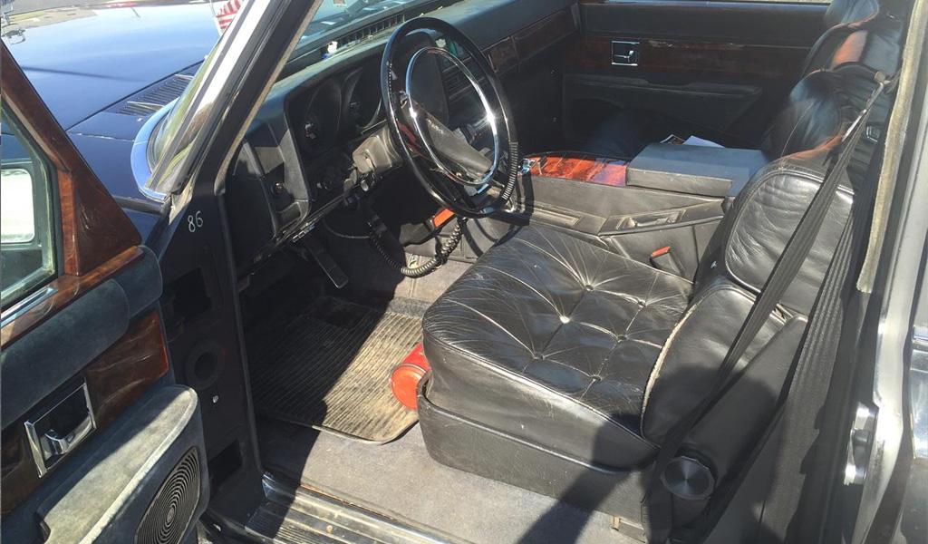 Водительское кресло ЗИЛ-41047