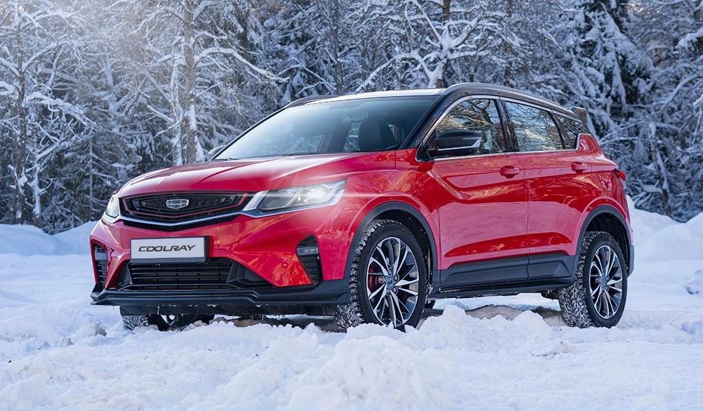 В России серьезно выросли продажи автомобилей Geely