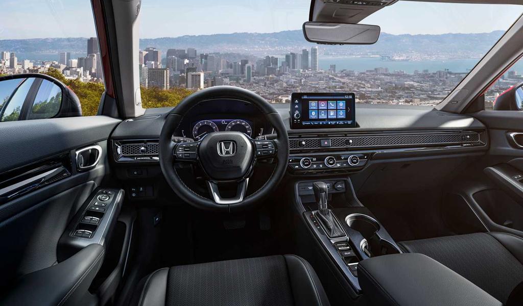 Салон Honda Civic нового поколения