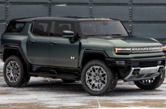 GMC представила электрический внедорожник Hummer
