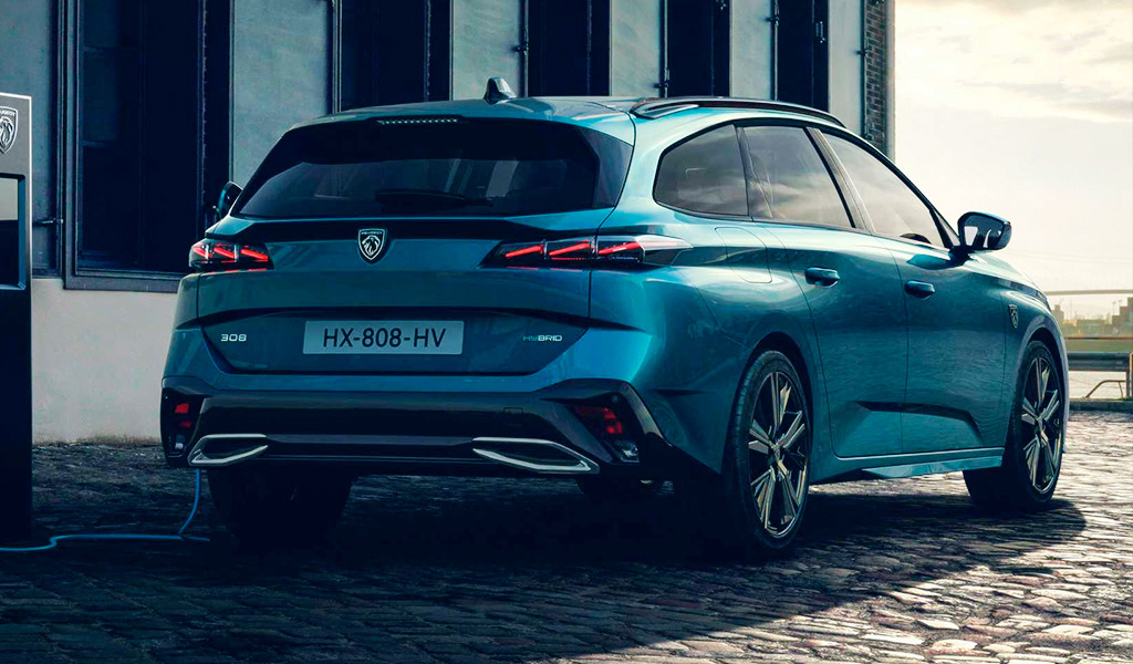 Peugeot показала новый универсал 308 SW