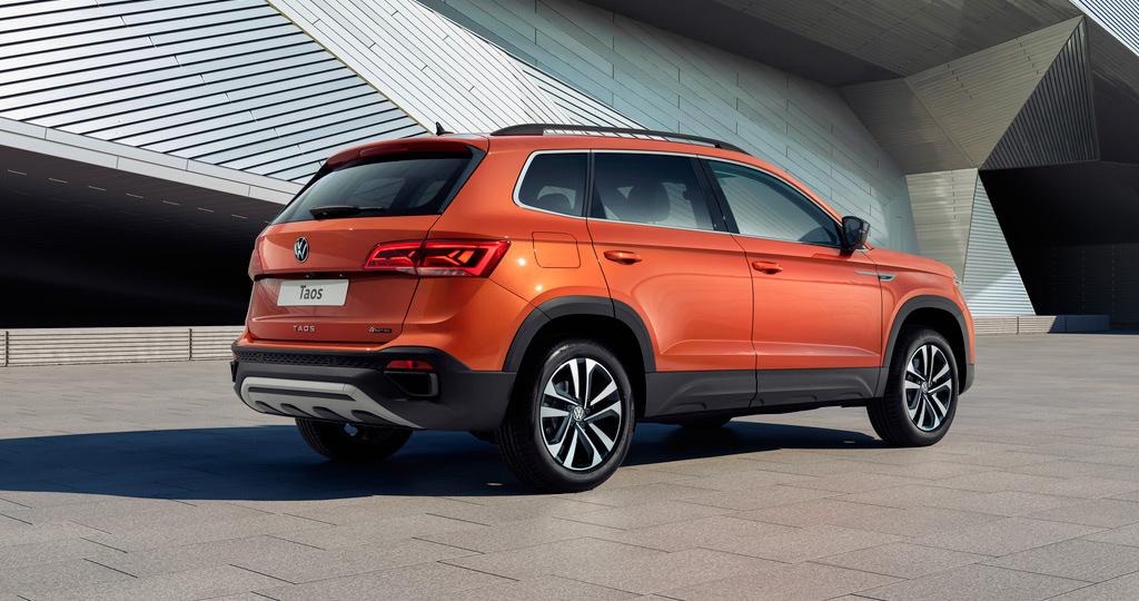 Volkswagen представил в России кроссовер Taos