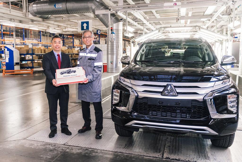 В России началось производство обновленного Mitsubishi Pajero Sport