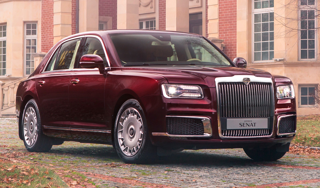 В Татарстане стартовало производство автомобилей Aurus Senat