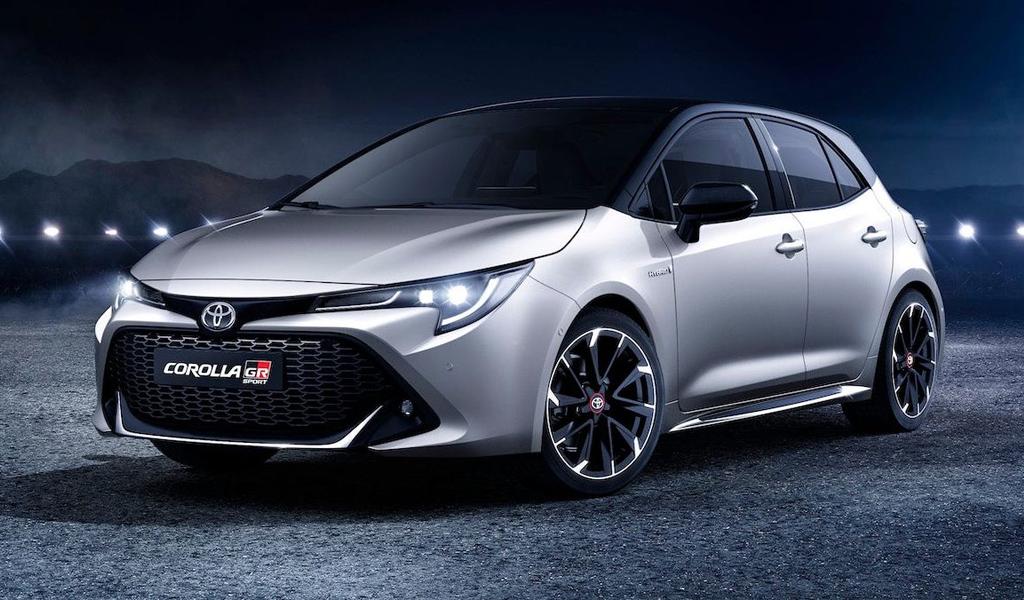 Toyota готовит 300-сильный хэтчбек Corolla GR