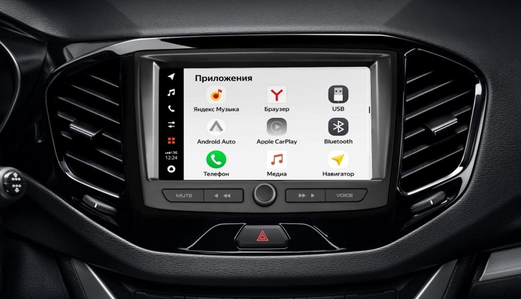 Начались продажи автомобилей LADA с мультимедиа-системой EnjoY Pro с Яндекс.Авто