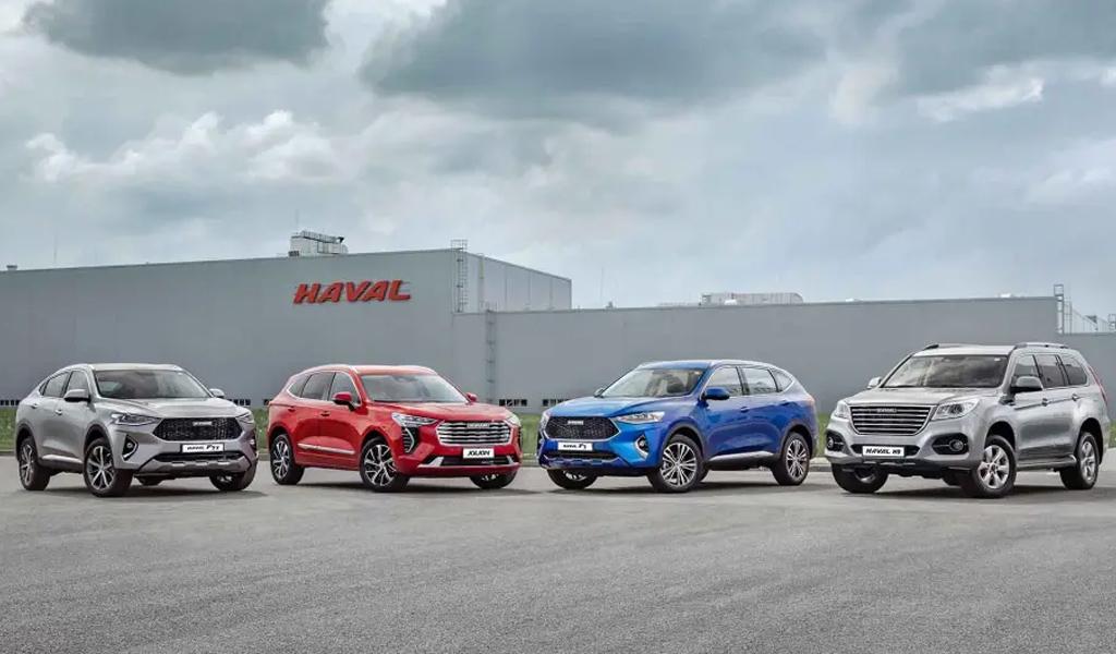 В России вновь выросли продажи автомобилей Haval
