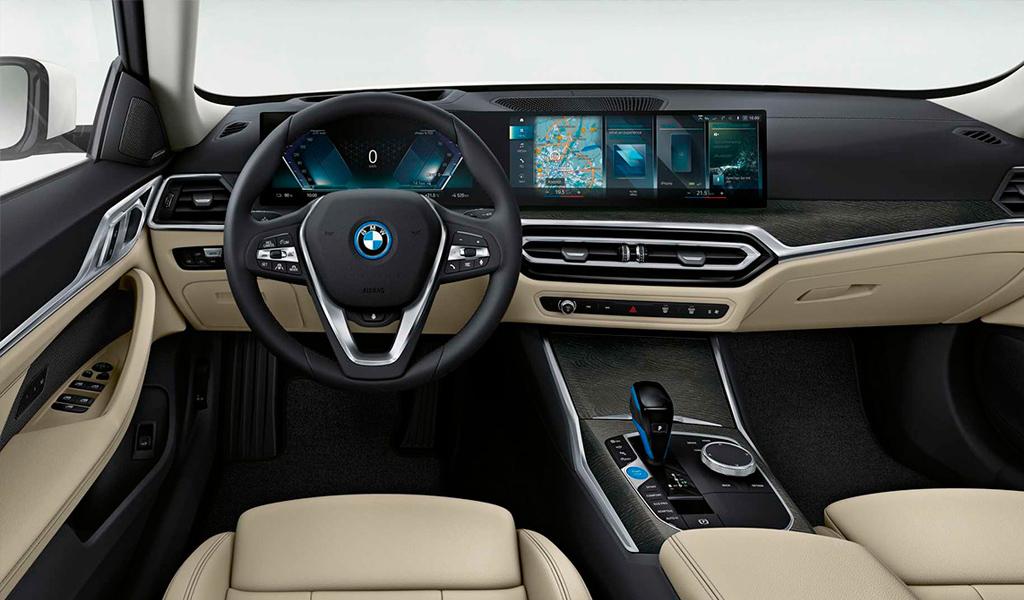 Салон BMW i4