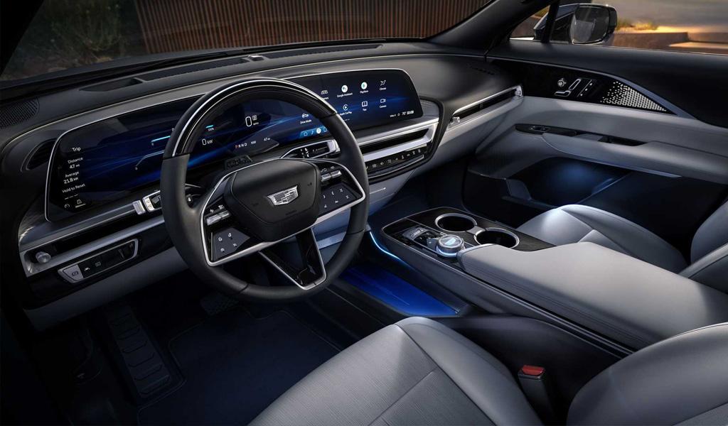 Салон Cadillac Lyriq