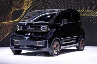 СП SAIC-General Motors представили новый электромобиль за 10 тысяч долларов