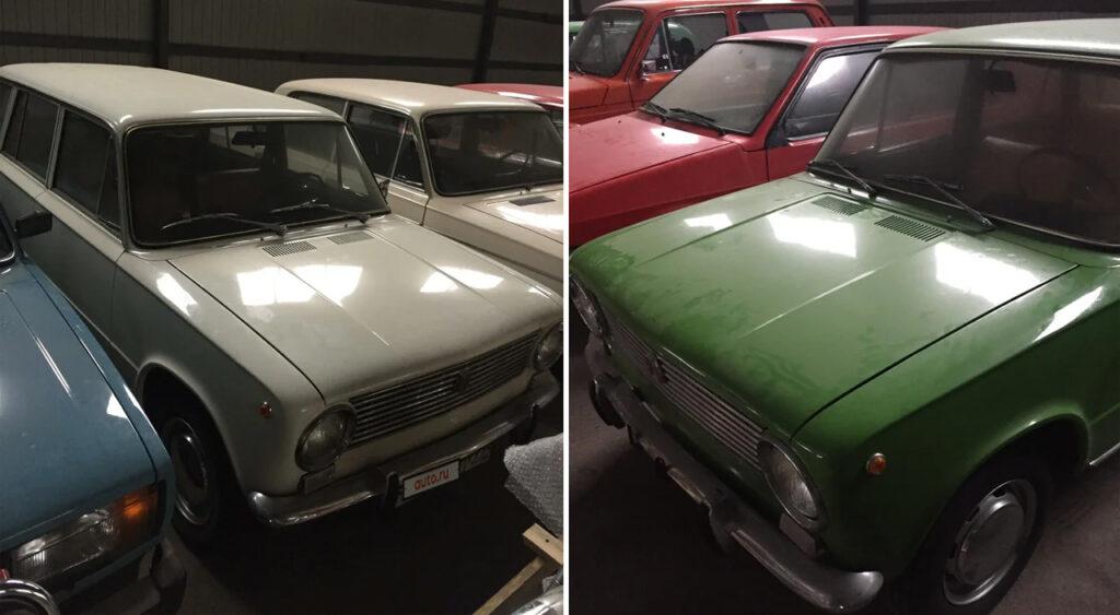 Коллекция из 16 автомобилей Lada за 16 млн рублей