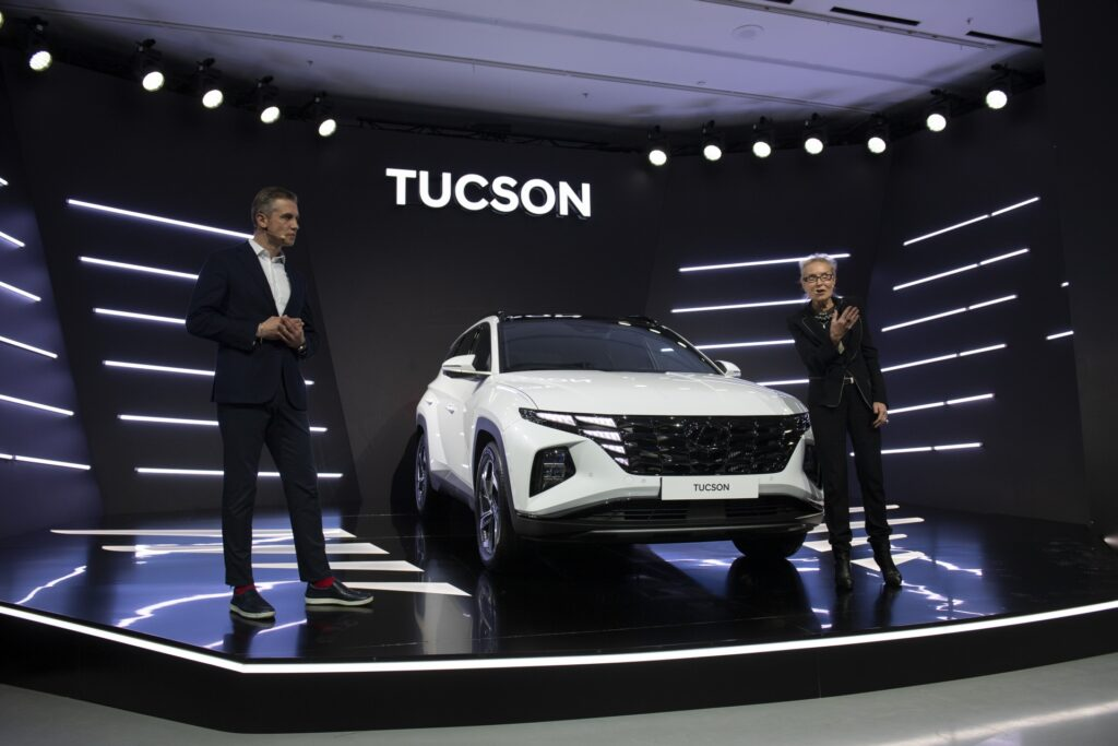В России представили новое поколение Hyundai Tucson