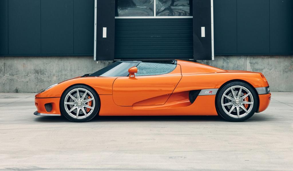 Первый экземпляр Koenigsegg выставлен на торги