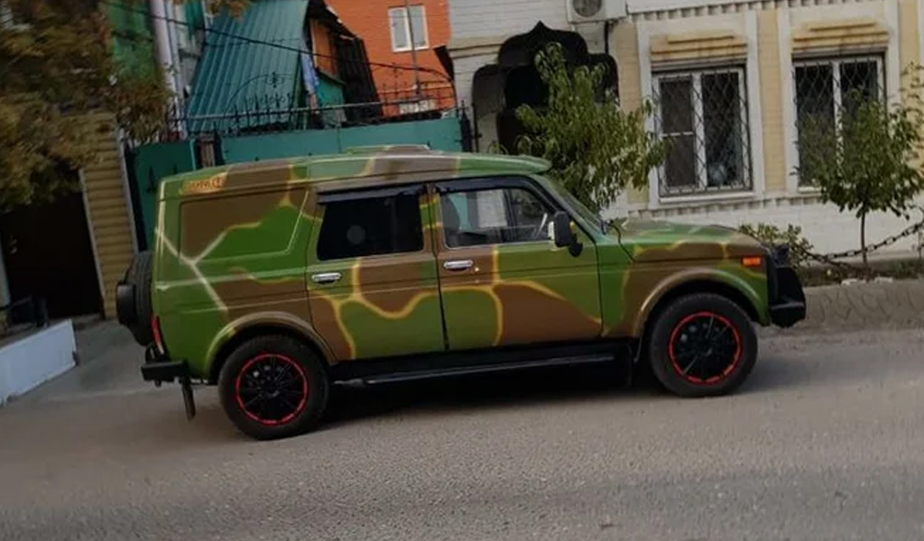 В России продают 13-летнюю «Ниву» за 4 млн рублей