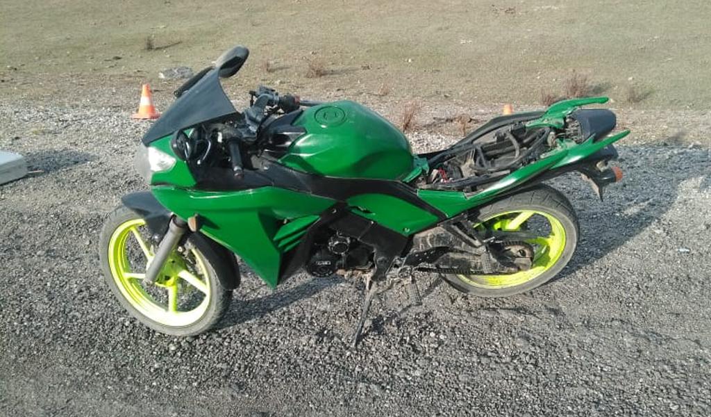 На Алтае 18-летний мотоциклист погиб в ДТП