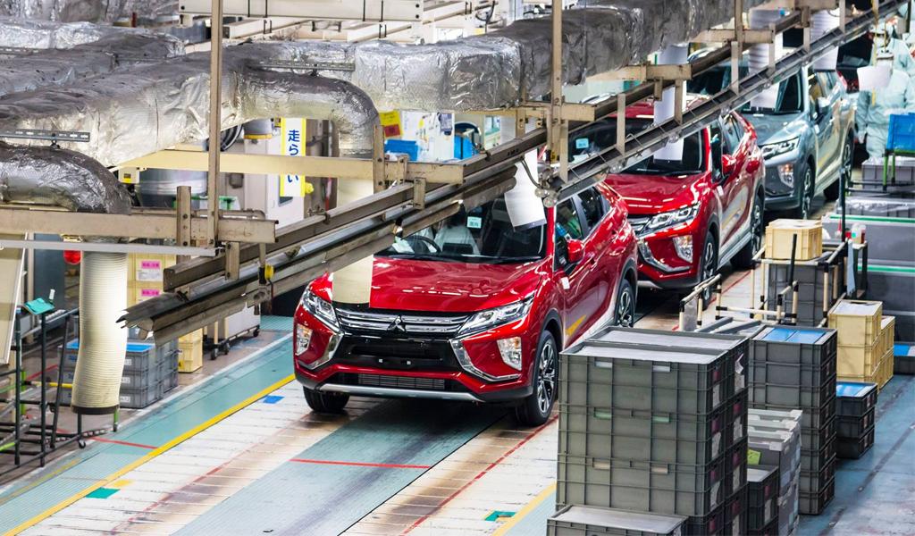 В России в два раза выросло производство легковых автомобилей